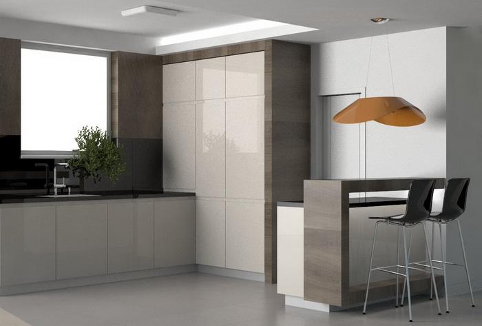 Interierovy dizajn kuchyne